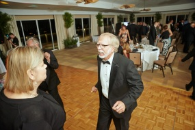 Carolann and Dennis Mahr celebrating.