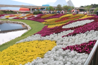 Leave it to Disney to make flowers out of flowers.