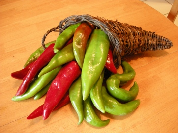 'Bounty' sweet pepper.