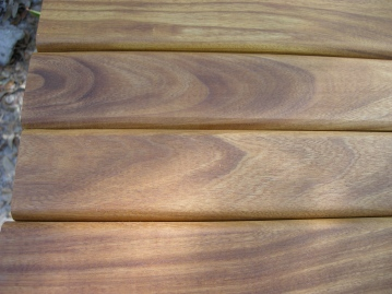 """Nice grain. The common name for afrormorsia is """"African Teak""""."""