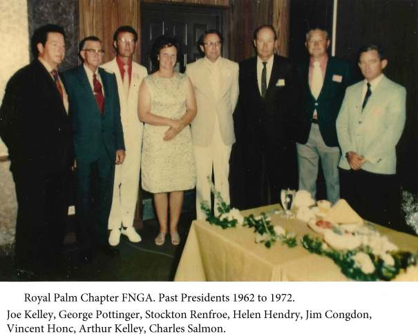 Royal Palm Past Pres 1962to1972