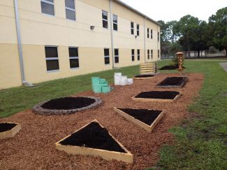 After construction. Thanks to donations from FNGLA Royal Palm Chapter and many volunteer's labor.