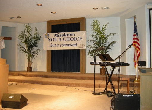 Here is our stage in 2012.