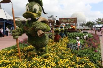 Donald and boys enjoying gardening.