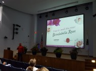 Jay Higgins from Sunfire Nurseries showed off a new series of roses that are disease resistant in Florida.