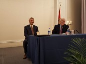 Ed Bravo at his last meeting as President, along with Ben Bolusky, Executive Director, FNGLA.